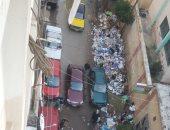 القمامة بمنطقة كامب شيزار الإسكندرية