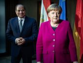 الرئيس السيسى والمستشارة الألمانية ميركل