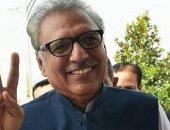 الرئيس الباكستانى عارف علوى