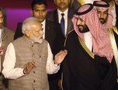 الأمير محمد بن سلمان ورئيس وزراء الهند