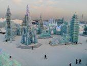 مهرجان الثلوج فى الصين