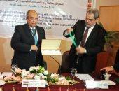 وزير الزراعة خلال افتتاح حلقة العمل الإقليمية بالمركز الإقليمي ونقل التكنولوجيا للدول العربية