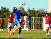 حسام غالى يشارك فى تدريبات فريق الجونة