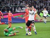 جانب من مباراة ألمانيا وصربيا