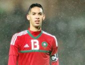 بدر بانون مدافع منتخب المغرب والرجاء البيضاوي