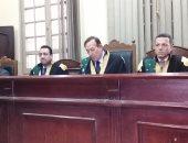 هئية المحكمة برئاسة المستشار محمد على مصطفى الفقى