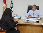 محافظ سوهاج  يلتقى المواطنين بمكتبه