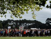 مسيرة الحب تجوب نيوزيلندا