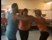 تحدى رقصة المثلث