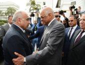 رئيس النواب يستقبل رئيس وزراء العراق