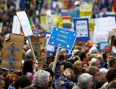 مظاهرات فى لندن للمطالبة باستفتاء جديد على البريكست