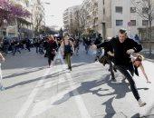 """اشتباكات وأعمال عنف فى أحدث احتجاجات """"السترات الصفراء"""""""