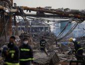 انفجار مصنع كيماويات بالصين