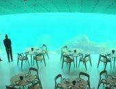 مطعم فى النرويج أسفل المياه