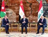 قمة ثلاثية بين زعماء مصر والأردن والعراق