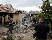 سقوط صاروخ على منزل بتل أبيب