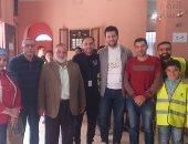 شباب قرية دنديط بالدقهلية يتبرعون بالدم