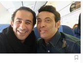 سعد الصغير و أحمد حلمى