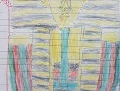 لوحة من رسومات أدم