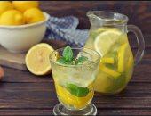 ماء الليمون المغلى