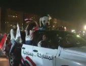المصريون يحتفلون بتعديل الدستور