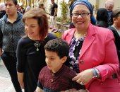 الدكتورة صفية القبانى تشارك فى الاحتفال بيوم اليتيم بـفنون جميلة الزمالك