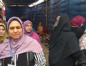 اقبال السيدات على المقار الانتخابية