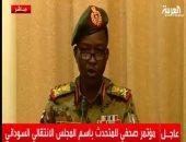 رئيس اللجنة السياسية بالمجلس العسكرى السودانى الفريق شمس الدين الكباشي