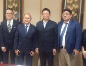 لقاءات وزير الصناعة وشركات صينية