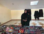 معروضات السيدات السيناويات بسباق مهرجان الهجن بشرم الشيخ