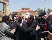 محافظ شمال سيناء يستقبل وزير الأوقاف والشباب والرياضة