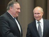 لقاء بوتين مع بومبيو