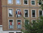 """نشطاء يغلقون نوافذ شركة """"بى بى"""""""