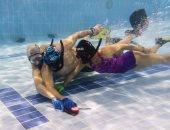الهوكى تحت الماء