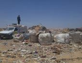 مخلفات مدينة العبور