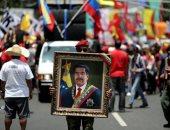 احتفالات إعادة انتخاب مادورو رئيسا لفنزويلا