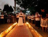 تأبين ضحايا تفجيرات سريلانكا