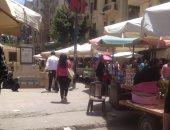 الباعة الجائلون بشارع إسماعيل أباظة