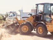 رفع 100 طن من القمامة والرمال