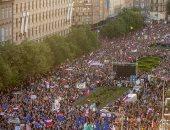 مظاهرات فى التشيك ضد رئيس الوزراء
