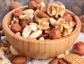 المكسرات أحد الاطعمة الغنية بالدهون الصحية للجسم