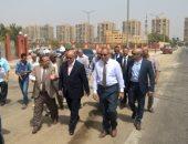 محافظ القاهرة خلال الجولة