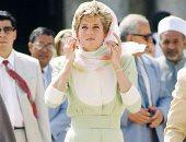 الأميرة ديانا ترتدى الخاتم