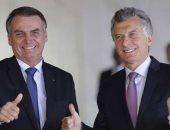 الرئيس الأرجنتينى وحليفه الرئيس البرازيلى