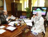 محافظ كفر الشيخ ووكيل وزارة التعليم بالمحافظة