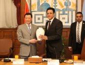 لقاء عمدة شنغهاى الصينية بمحافظة القاهرة