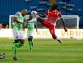 جانب من مباراة بوروندي ضد نيجيريا