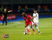 جانب من مباراة كينيا والجزائر