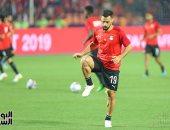 عبدالله السعيد لاعب بيراميدز و المنتخب