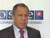 سيرجى لافروف - وزير الخارجية الروسى
